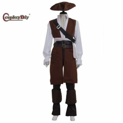 高品質 高級コスプレ衣装 パイレーツ・オブ・カリビアン風 キャプテン ジャックスコスチューム Pirates of the Caribbean Captain Jacks Costume Cosplay