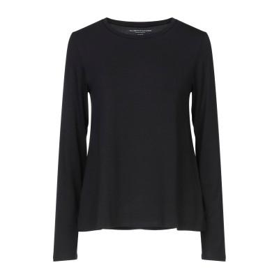 マジェスティック MAJESTIC FILATURES T シャツ ブラック 2 レーヨン 94% / ポリウレタン 6% T シャツ