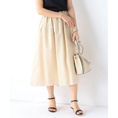 BEAMS WOMEN / Demi-Luxe BEAMS / ウエストギャザー スカート WOMEN スカート > スカート
