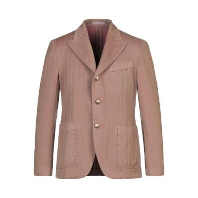 ガブリエレ パジーニ GABRIELE PASINI テーラードジャケット ブラウン 50 コットン 54% / ポリエステル 46% テーラードジ