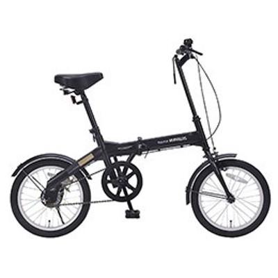 ●◆MYPALLAS 折畳自転車16インチ ブラック M-100-BK