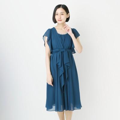 ミモレ丈フォーマルワンピースドレス【9―23号】(スウィートアズ/Sweet As)
