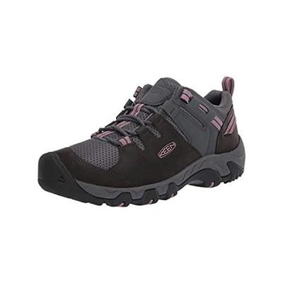 KEEN Women's Steens Vent Hiking Shoe, Black, 8