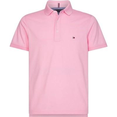 トミー ヒルフィガー Tommy Hilfiger メンズ ポロシャツ トップス Tommy Slim Polo CLASSIC PINK