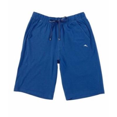 トッミーバハマ メンズ ハーフパンツ・ショーツ ボトムス Cotton Modal Solid Pajama Shorts Navy