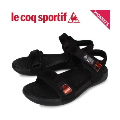 (lecoqsportif/ルコックスポルティフ)ルコック スポルティフ le coq sportif サンダル レディース LA ジュアン アクティブ LA JUAN ACTIVE ブラック 黒 QL3RJE/レディース その他