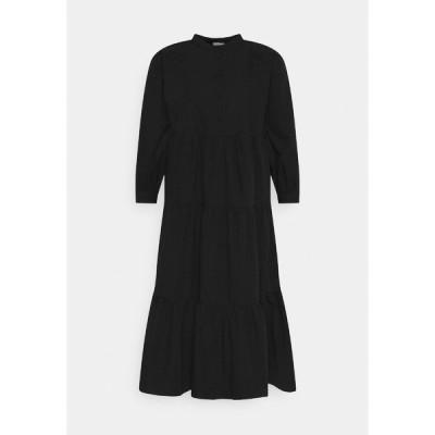 ピーシーズ マタニティ ワンピース レディース トップス PCMNOLIA 3/4 MIDI DRESS - Day dress - black