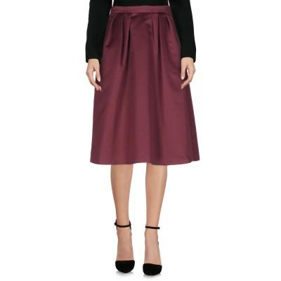 ピンコ PINKO ひざ丈スカート ディープパープル 44 ポリエステル 100% ひざ丈スカート