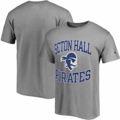 Champion チャンピオン スポーツ用品  Champion Seton Hall Pirates Gray Tradition T-Shirt