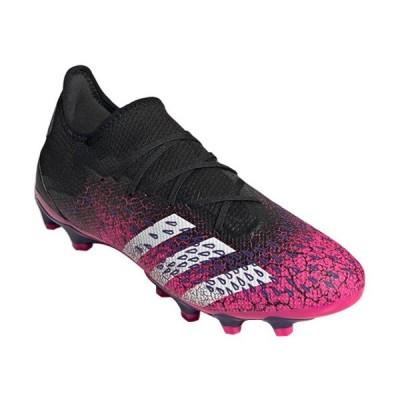 アディダス(adidas) メンズ サッカー スパイク プレデター フリーク.3 ロー HG/AG コアブラック/フットウェアホワイト/ショックピンク LGK54 FZ3706