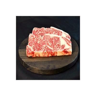二本松市 ふるさと納税 福島県二本松市産 黒毛和牛サーロインステーキ2枚 計約300g