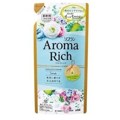 【T】 ソフラン アロマリッチ 柔軟剤 サラ つめかえ用 (400ml) アロマ柔軟剤