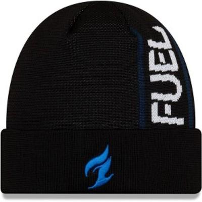 ニューエラ メンズ 帽子 アクセサリー Dallas Fuel New Era Cuffed Knit Hat Black