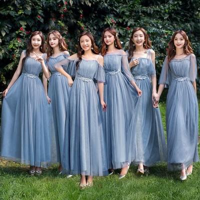 2020新入荷韓国ファッショ ンブライズメイドドレス パーティードレス 結婚式 二次会ドレス  韓国 演出 司会 結婚式 二次会 演奏会 発表会 披露宴 ドレス