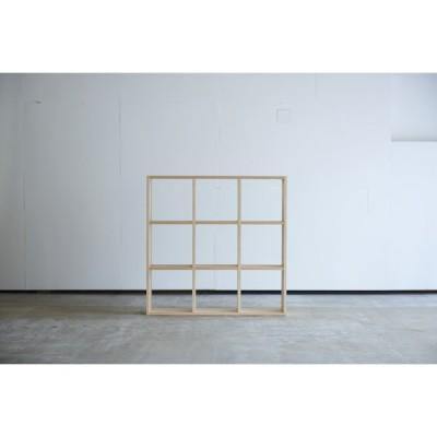 本棚 H1070 メープル オープンシェルフ ブックシェルフ ディスプレイラック 国産 日本製 /杉工場 木と風