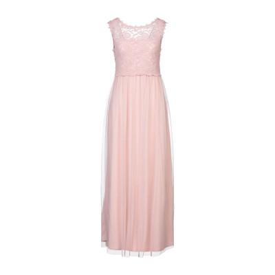 VILA ロングワンピース&ドレス ライトピンク 34 ポリエステル 100% / コットン / ナイロン / ポリウレタン ロングワンピース&ドレス
