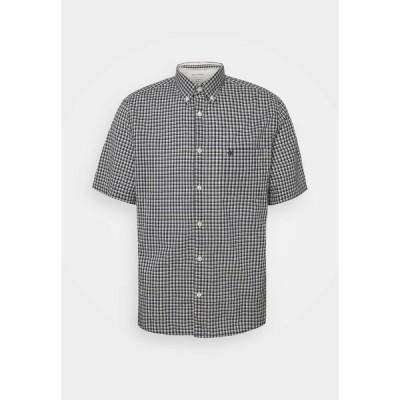 マルコポーロ シャツ メンズ トップス BUTTON DOWN SHORT SLEEVE - Shirt - multi/ white