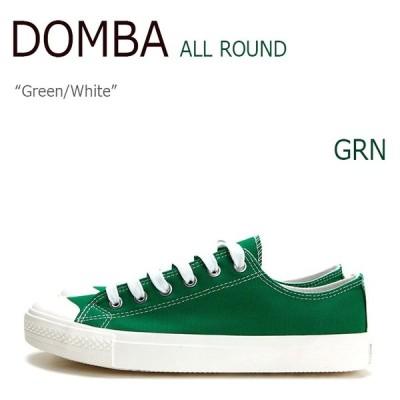 DOMBA SHOES ALL ROUND GREEN WHITE M-5009 スニーカー シューズ
