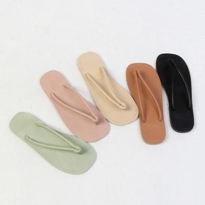サンダル トング レディース フラット ぺたんこ ペタンコ 黒 茶色 ブラック ブラウン ベージュ ピンク ライム 靴 婦人靴 歩きやすい 痛くない