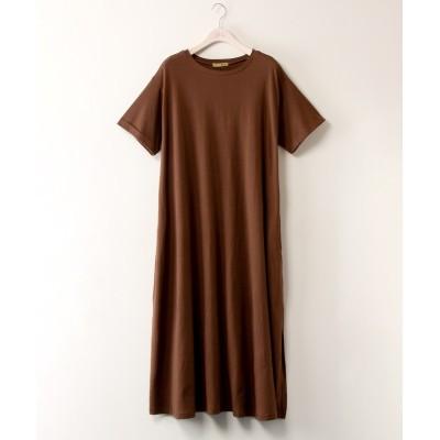 【大きいサイズ】 コットンリネンAラインワンピース ワンピース, plus size dress