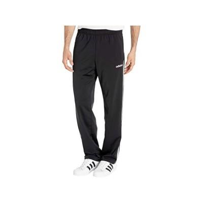 (取寄)アディダス メンズ エッセンシャル 3ストライプ トリコット オープン ヘム パンツ adidas Men's Essentials 3-Stripes Tricot Open Hem Pants Black/