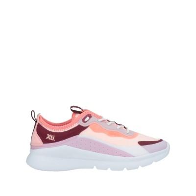 XTI スニーカー&テニスシューズ(ローカット) ピンク 36 紡績繊維 / ゴム スニーカー&テニスシューズ(ローカット)
