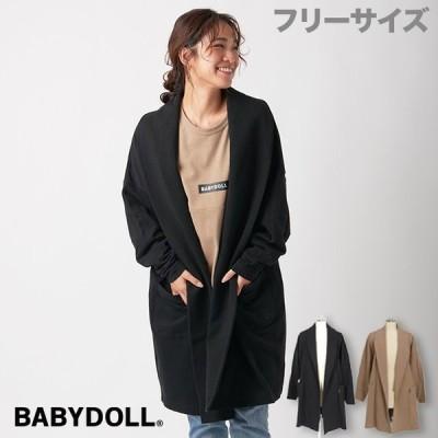 ベビードール BABYDOLL 子供服 カーディガン ボリューム ロング 4613A 大人 レディース