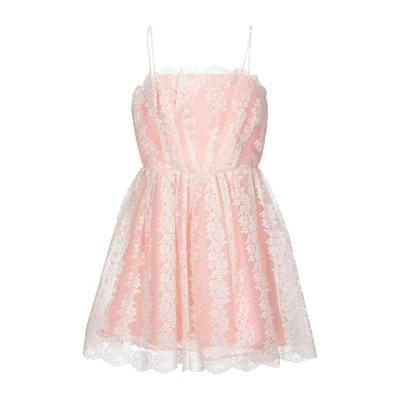 トップショップ TOPSHOP ミニワンピース&ドレス サーモンピンク 12 ポリエステル 100% ミニワンピース&ドレス