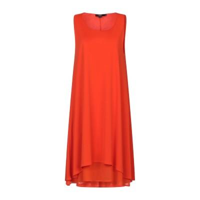 SEVENTY SERGIO TEGON ミニワンピース&ドレス オレンジ 44 ポリエステル 94% / ポリウレタン 6% ミニワンピース&ドレス