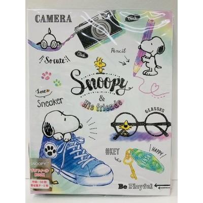 スヌーピー プロフィールブック<スニーカー>ホワイト  新品 30101