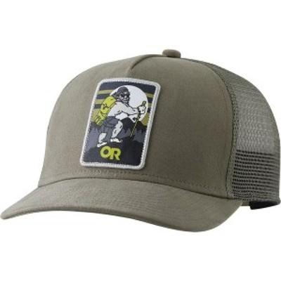 アウトドアリサーチ メンズ 帽子 アクセサリー Squatchin' Trucker Cap Cafe