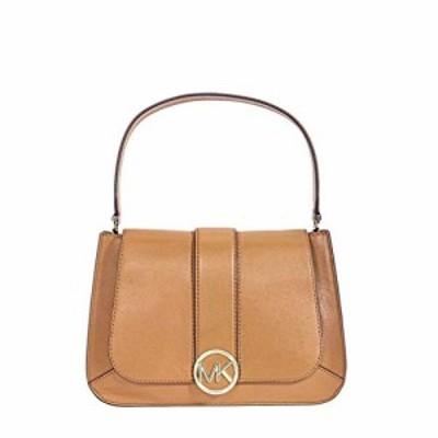 マイケルコースMichael Kors Leather Shoulder Bag- Acorn