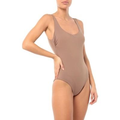 フィジコ FISICO レディース ワンピース 水着・ビーチウェア One-Piece Swimsuit Khaki