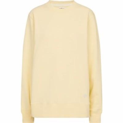 トリー バーチ Tory Sport レディース スウェット・トレーナー トップス Cotton jersey sweatshirt Light Yellow