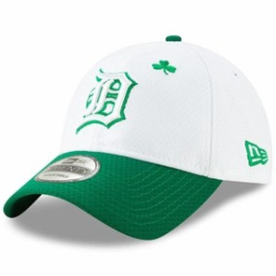 New Era ニュー エラ スポーツ用品  New Era Detroit Tigers White/Kelly Green 2019 St. Patricks Day 9TWENTY Adjustable Hat