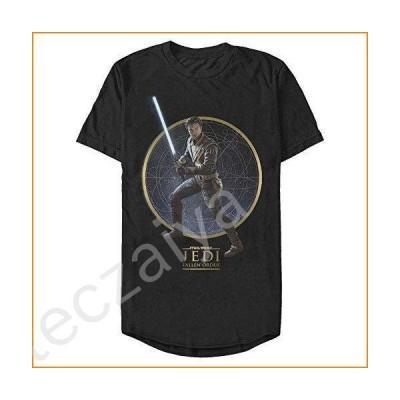 STAR WARS Men's T-Shirt, Black, Medium並行輸入品