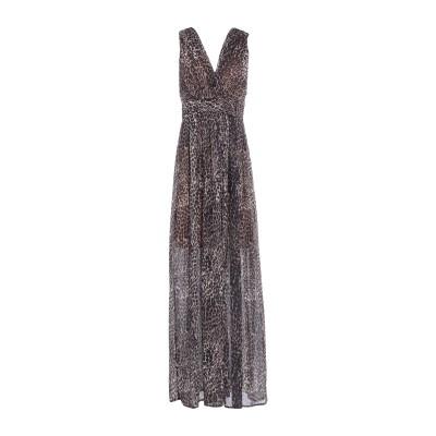 VICOLO ロングワンピース&ドレス カーキ S ポリエステル 100% ロングワンピース&ドレス