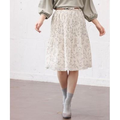 Honeys / 花柄スカート WOMEN スカート > スカート