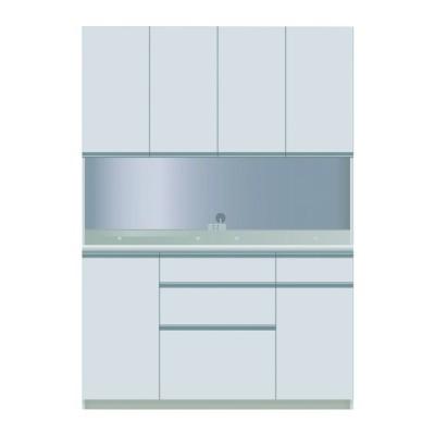 食器棚 キッチン収納 キッチンボード レンジ台 日本製 パモウナ ダイニングボード CZA-S 1400 R W (配送員設置)