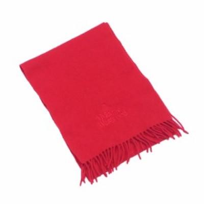 ヴィヴィアン ウエストウッド マフラー フリンジ付き オーブ刺繍 レッド ウールWOOL 100%Vivienne Westwood レディース プレゼント 贈り