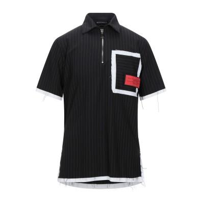 MASTERPIECE of RÊVER Paris シャツ ブラック S コットン 97% / ポリウレタン 3% シャツ