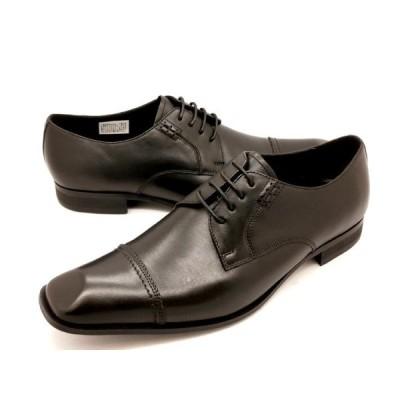 キャサリンハムネット 靴 ストレートチップ ビジネスシューズ 3967(ブラック) KATHARINE HAMNETT メンズ