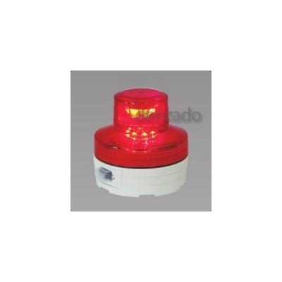 日動工業 LED回転灯 常時点灯タイプ 防雨型 電池式 赤 NU-AR