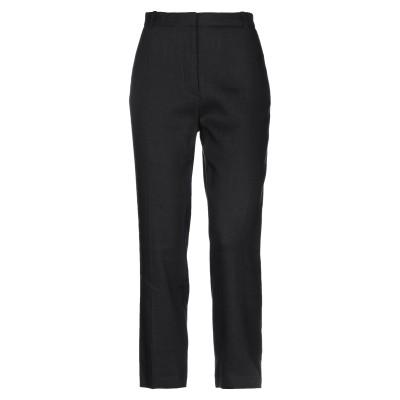 ジョゼフ JOSEPH パンツ ブラック 36 麻 67% / レーヨン 30% / ポリウレタン 3% パンツ