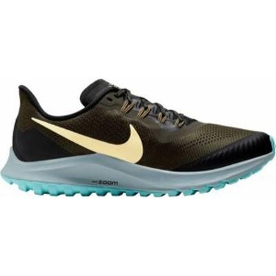 ナイキ レディース スニーカー シューズ Nike Women's Air Zoom Pegasus 36 Trail Running Shoes Khaki/Blue