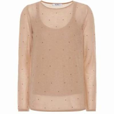 マックスマーラ ニット・セーター Strillo embellished sweater conchiglia unito