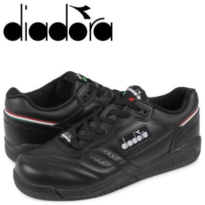 ディアドラ Diadora アクション スニーカー メンズ ACTION ブラック 黒 175361-0641