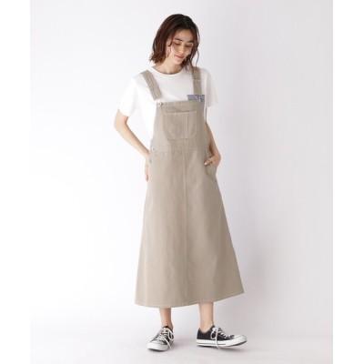 BASESTATION / 【WEB限定】ジャンスカサロペット WOMEN スカート > スカート