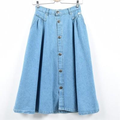 CHEROKEE デニム Aラインスカート USA製 レディースM /eaa022910