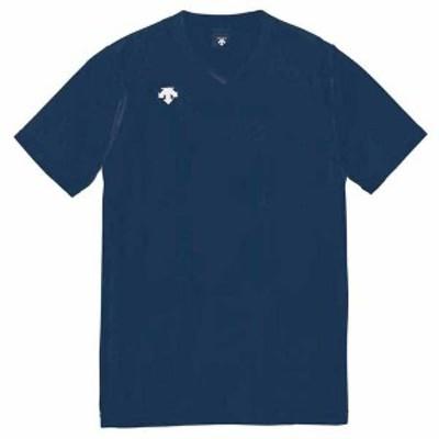 デサント DS-DSS4321-NVY-L 男女兼用 バレーボール V首半袖ゲームシャツ(NVY・L)DESCENTE[DSDSS4321NVYL]【返品種別A】